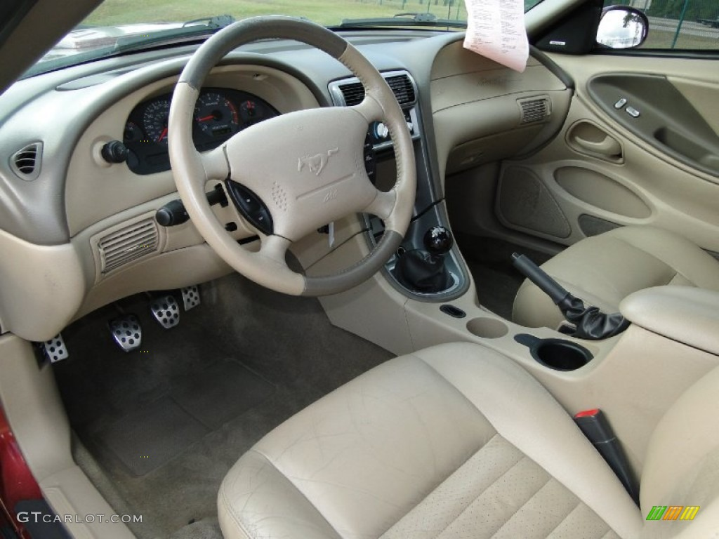 Medium Parchment Interior 2004 Ford Mustang Gt Coupe Photo