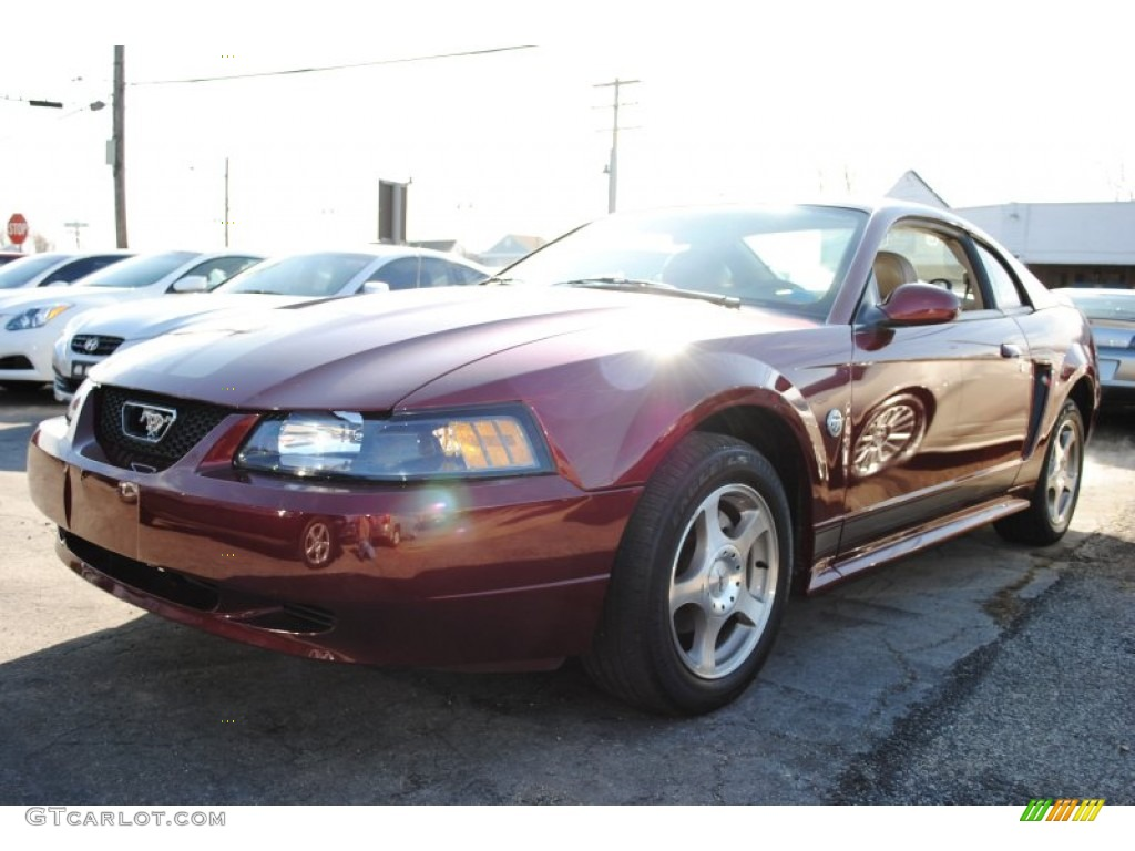 40th anniversary crimson red metallic ford mustang ford mustang v6 coupe