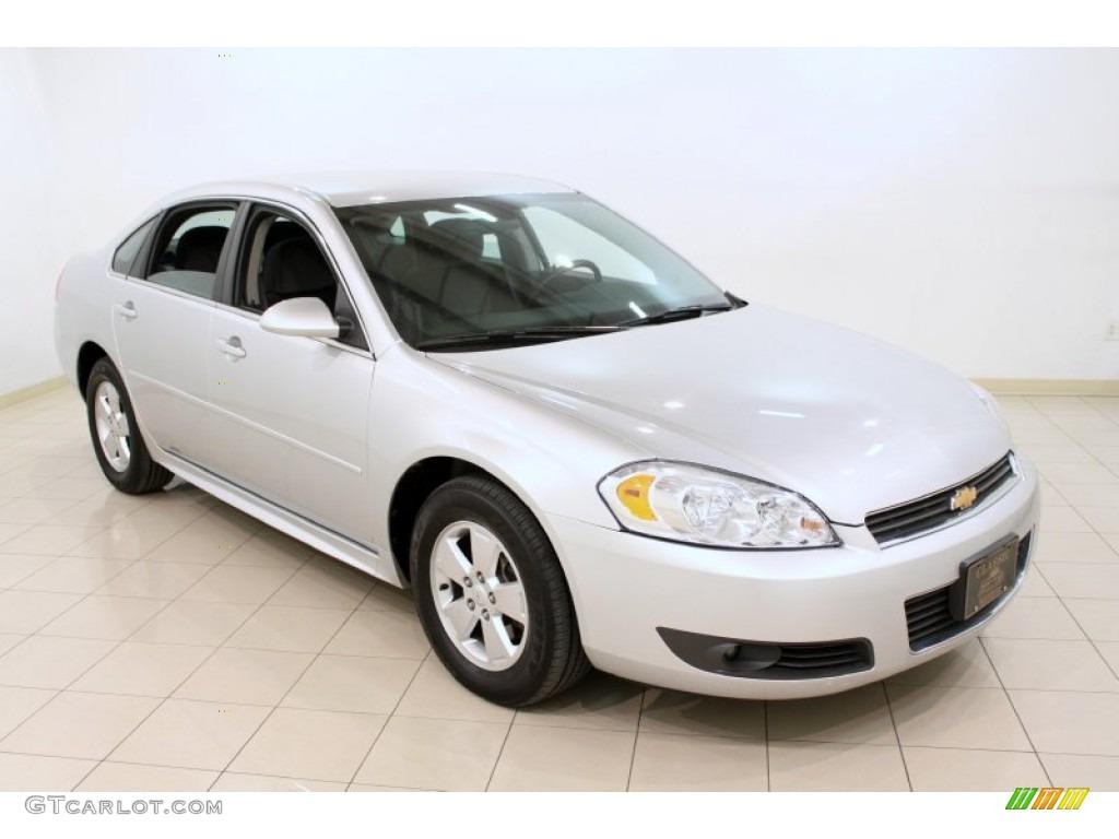 2011 silver ice metallic chevrolet impala lt 59375885 car color galleries. Black Bedroom Furniture Sets. Home Design Ideas