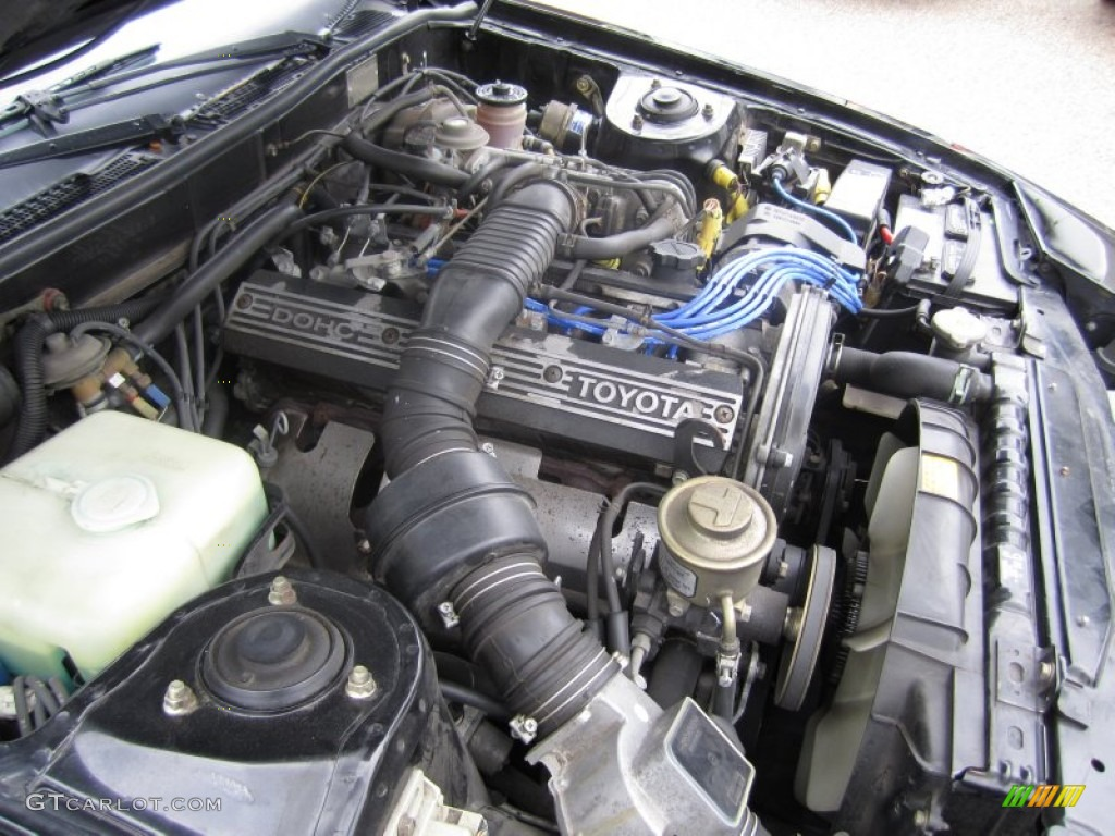 1984 Toyota Celica Supra 28 Liter Dohc 12 Valve Inline 6 Cylinder Engine Diagram Photo