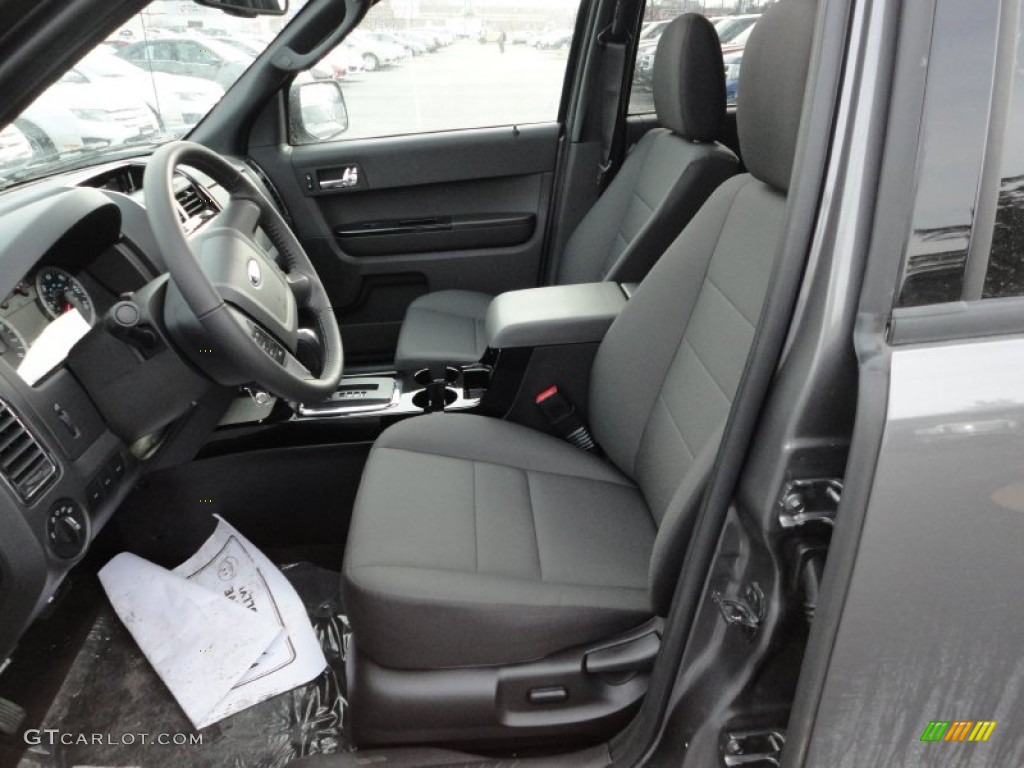 charcoal black interior 2012 ford escape xlt sport awd. Black Bedroom Furniture Sets. Home Design Ideas