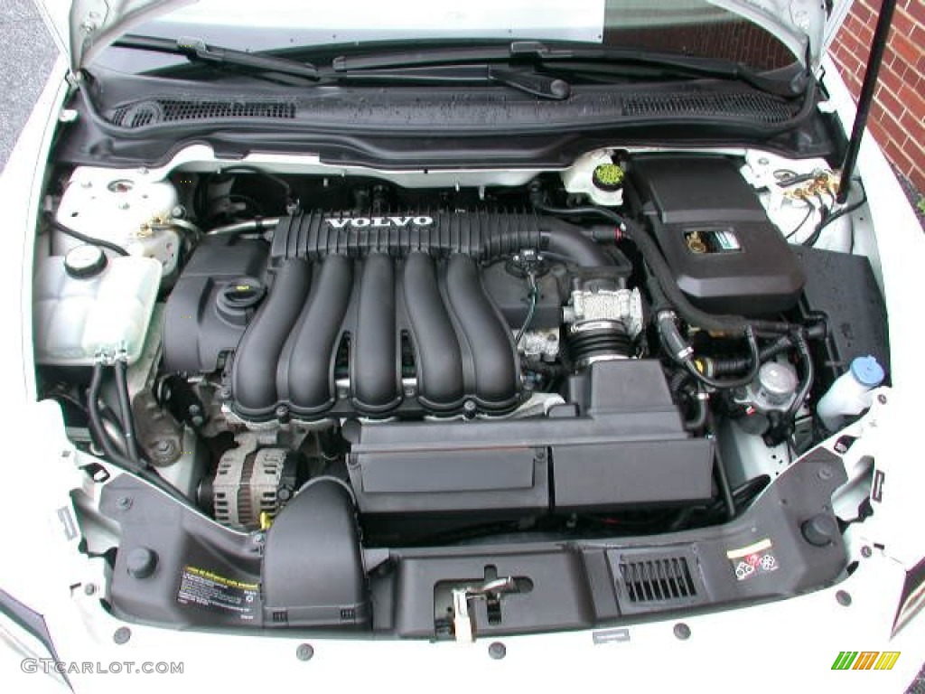 2008 Volvo V50 2.4i Engine Photos | GTCarLot.com