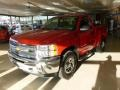 2012 Victory Red Chevrolet Silverado 1500 LS Regular Cab 4x4  photo #3