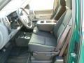 2012 Fleet Green Chevrolet Silverado 1500 LS Extended Cab 4x4  photo #16