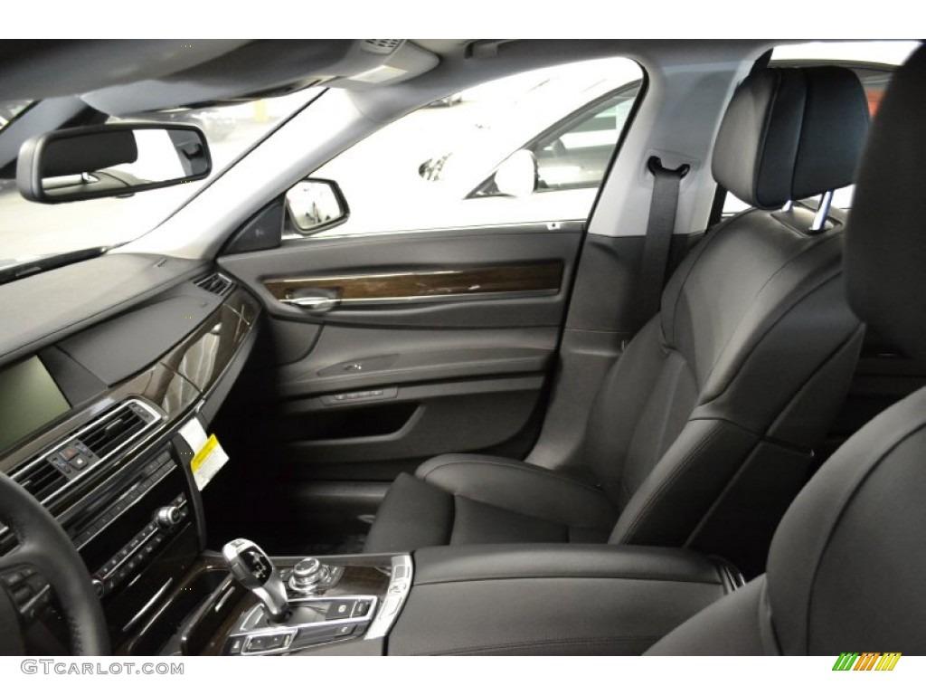 Black Interior 2012 BMW 7 Series 740Li Sedan Photo 59445782