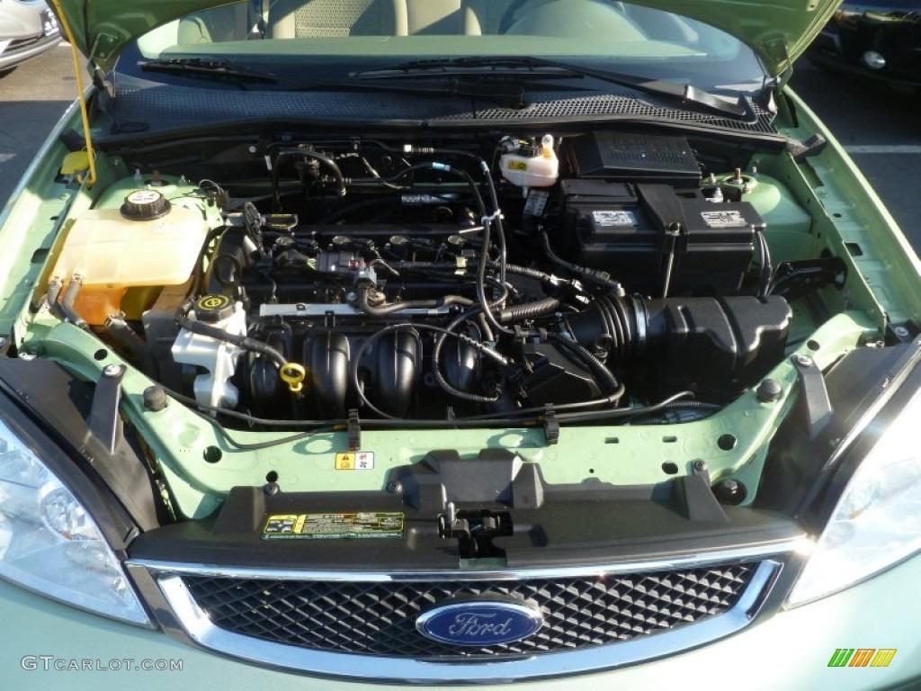 2007 ford focus zx4 se sedan 2 0 liter dohc 16 valve 4. Black Bedroom Furniture Sets. Home Design Ideas