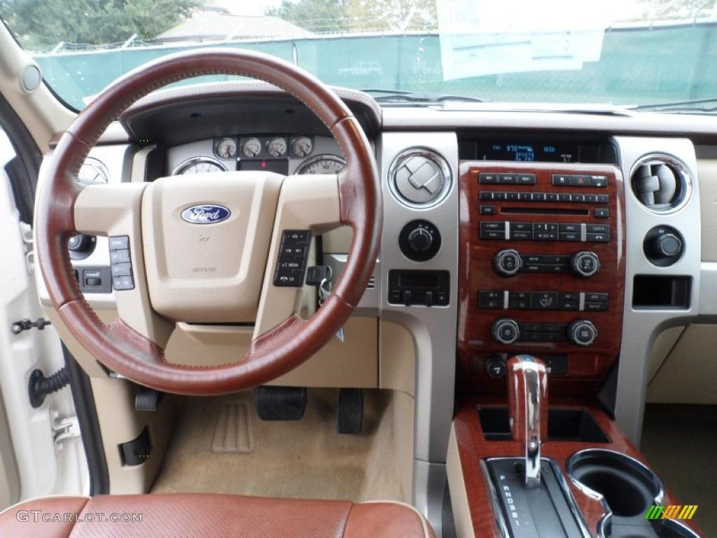 2009 Ford F150 Lariat SuperCrew 4x4 Dashboard Photos ...