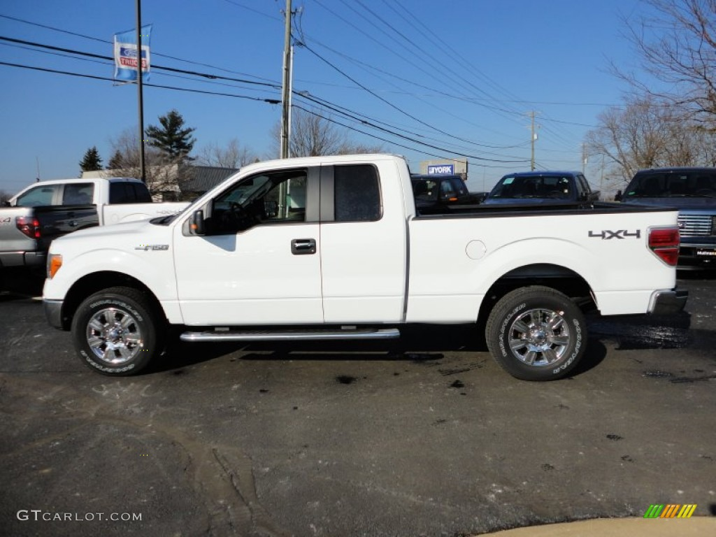 2012 Ford F150 4x4 Oxford White 2012 Ford F150 XLT SuperCab 4x4 Exterior Photo #59458361 ...