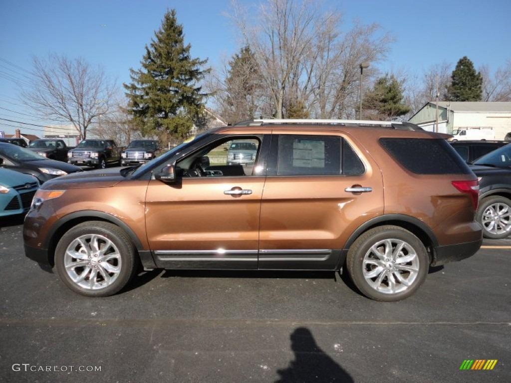 Ford Explorer Limited >> 2012 Golden Bronze Metallic Ford Explorer Limited ...