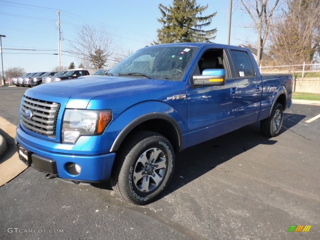 2012 Blue Flame Metallic Ford F150 Fx4 Supercrew 4x4