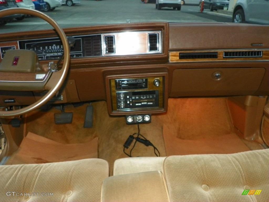 1987 cutlass supreme brougham sungold metallic beige photo 17