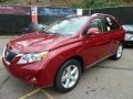 Matador Red Metallic 2012 Lexus RX Gallery