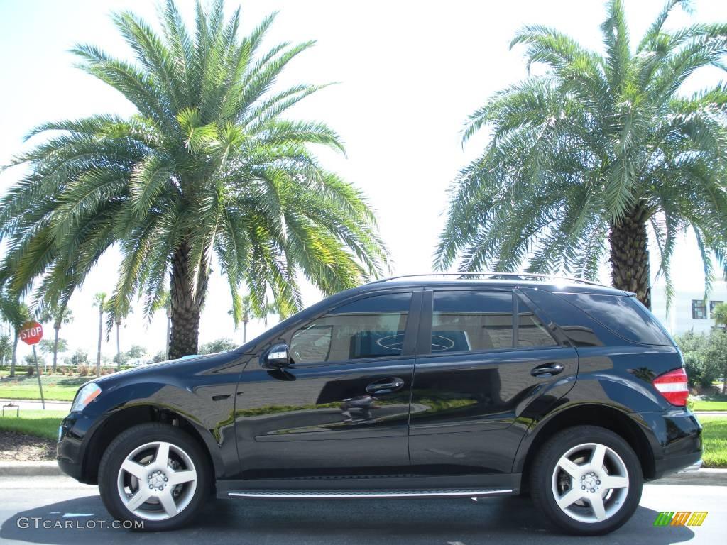2007 black mercedes benz ml 350 4matic 543397 car color galleries. Black Bedroom Furniture Sets. Home Design Ideas