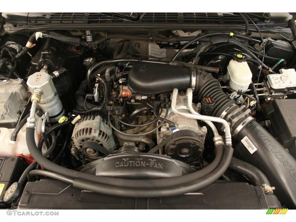 2003 Gmc Sonoma Sls Extended Cab 4x4 4 3 Liter Ohv 12v