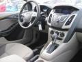 2012 Frosted Glass Metallic Ford Focus SE Sedan  photo #4
