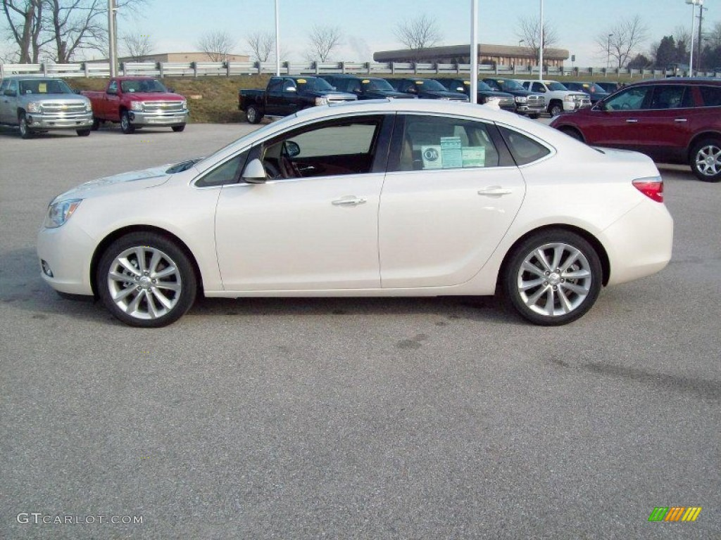 White Diamond Tricoat 2012 Buick Verano Fwd Exterior Photo