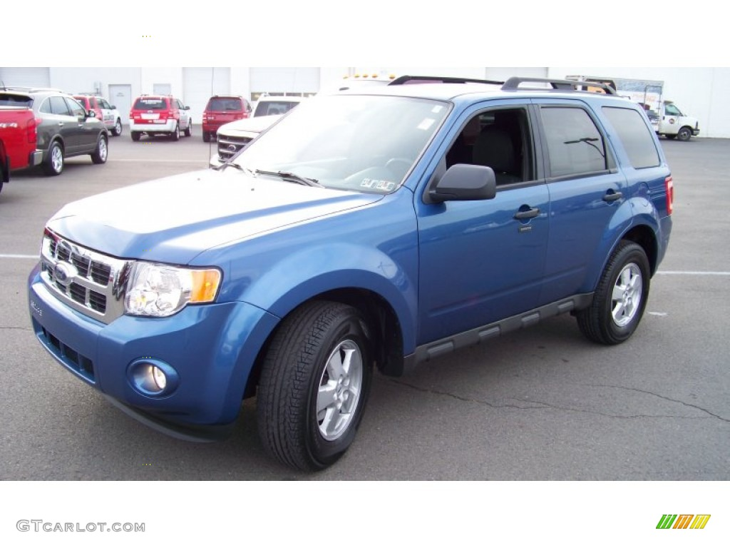 2009 Escape XLT V6 4WD - Sport Blue Metallic / Charcoal photo #1