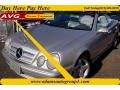 Brilliant Silver Metallic 2001 Mercedes-Benz CLK 430 Cabriolet