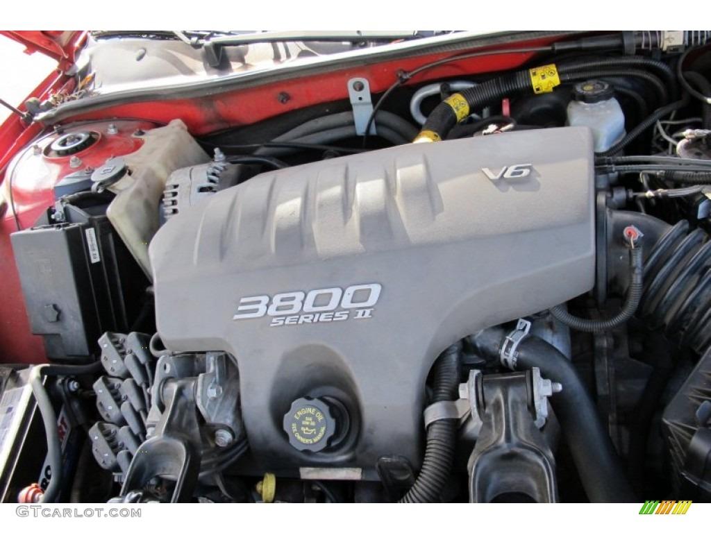 2002 Pontiac Grand Prix Gt Coupe 3 8 Liter 3800 Series Ii