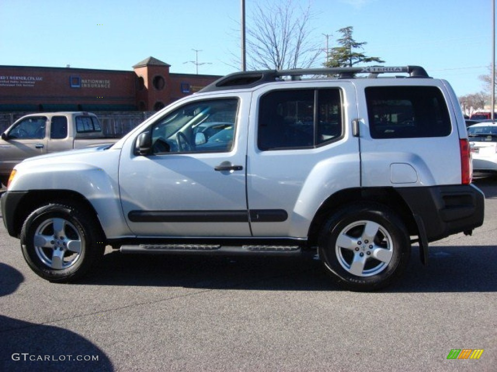 2007 silver lightning metallic nissan xterra se 4x4. Black Bedroom Furniture Sets. Home Design Ideas