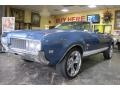 Nassau Blue 1969 Oldsmobile Cutlass S Convertible