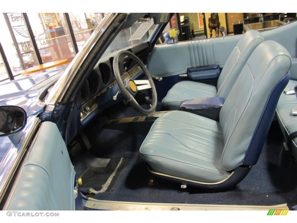 1969 Oldsmobile Cutlass S Convertible interior Photo ...