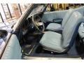 1969 Cutlass S Convertible Blue Interior