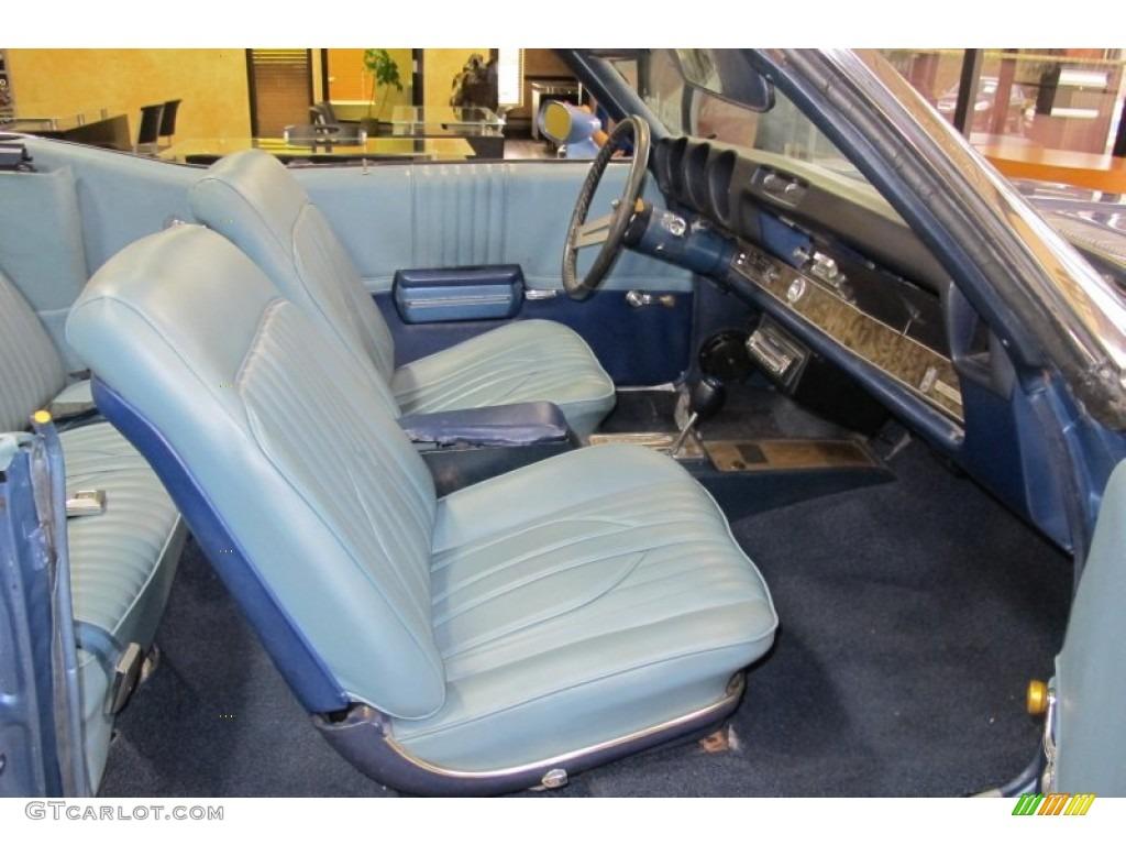 Blue Interior 1969 Oldsmobile Cutlass S Convertible Photo 59506236