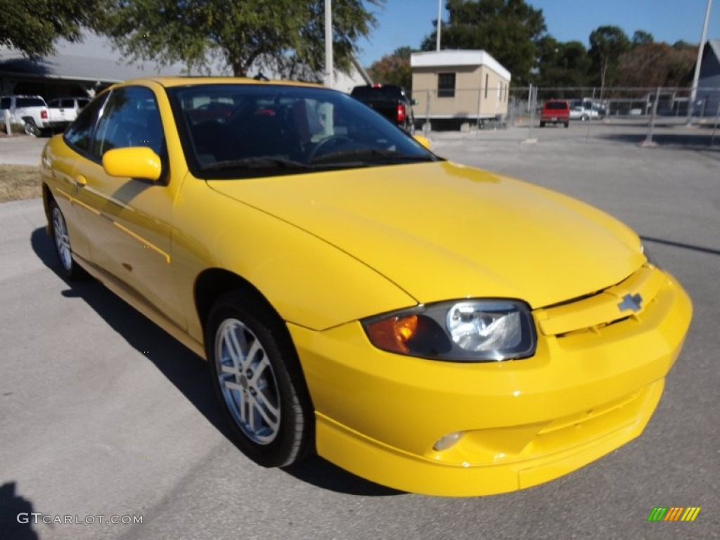 Yellow 2003 Chevrolet Cavalier LS Sport Coupe Exterior Photo #59517168