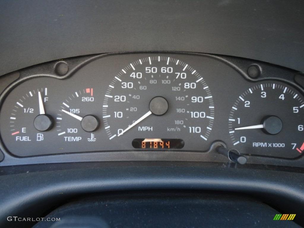 2003 Chevrolet Cavalier LS Sport Coupe Gauges Photo #59517267