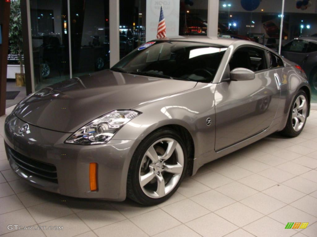 2008 carbon silver nissan 350z enthusiast coupe 5943320 carbon silver nissan 350z vanachro Image collections