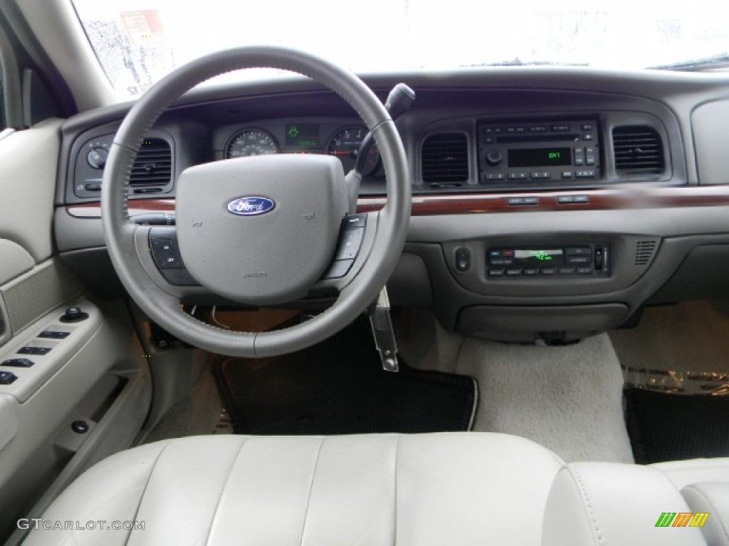 2011 Ford Crown Victoria Lx Medium Light Stone Dashboard