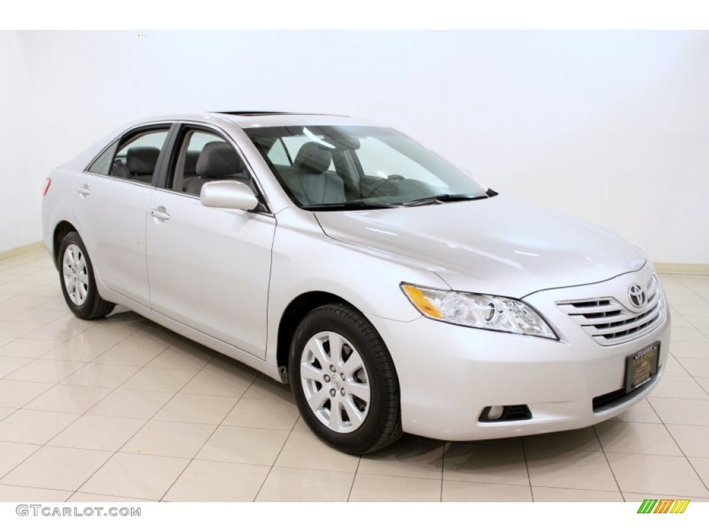 2009 classic silver metallic toyota camry xle v6 59478849 car color galleries. Black Bedroom Furniture Sets. Home Design Ideas