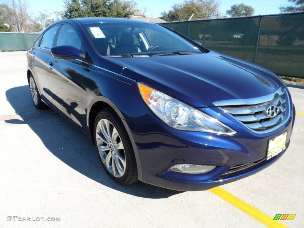 2012 Indigo Night Blue Hyundai Sonata Se 2 0t 59478615
