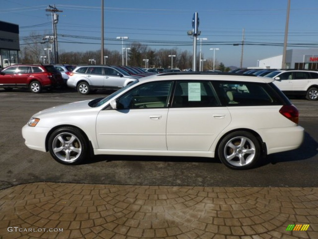 satin white pearl 2007 subaru legacy wagon exterior. Black Bedroom Furniture Sets. Home Design Ideas