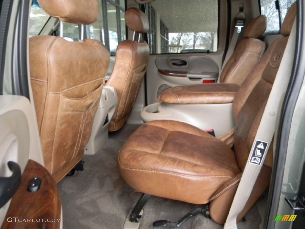 2003 Ford F150 King Ranch Supercrew 4x4 Interior Photos