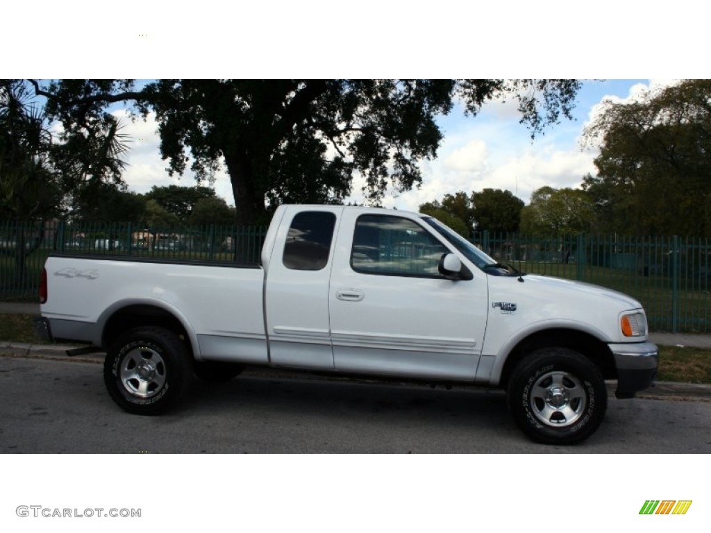 2001 ford f 150 white 200 interior and exterior images. Black Bedroom Furniture Sets. Home Design Ideas