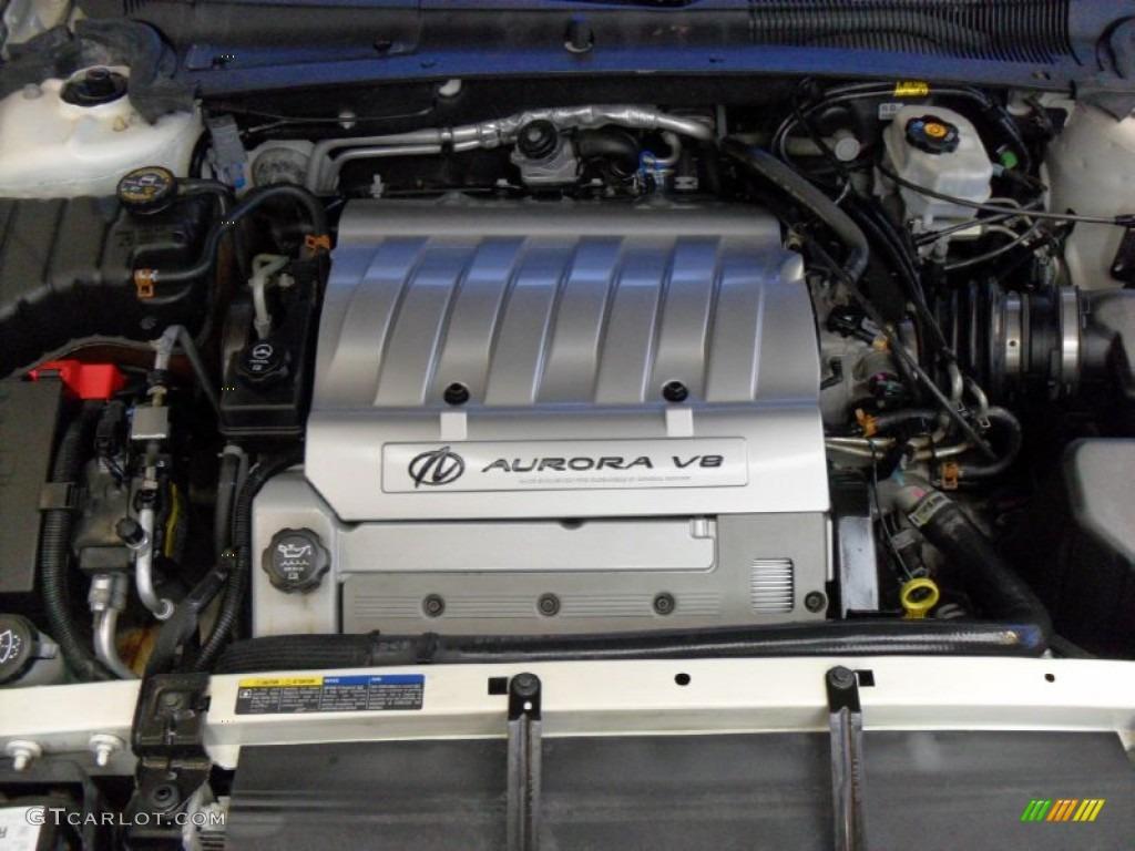 2003 Oldsmobile Aurora 4.0 4.0 Liter DOHC 32-Valve V8 Engine Photo .