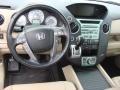 2010 Honda Pilot Beige Interior Dashboard Photo