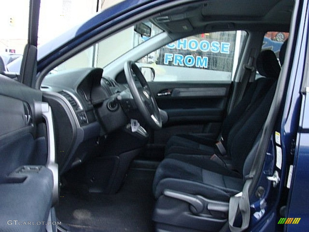2008 CR-V EX 4WD - Royal Blue Pearl / Black photo #7