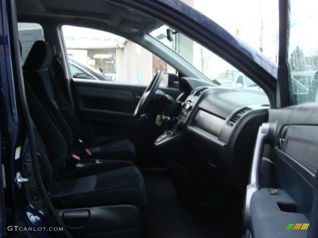 2008 CR-V EX 4WD - Royal Blue Pearl / Black photo #8