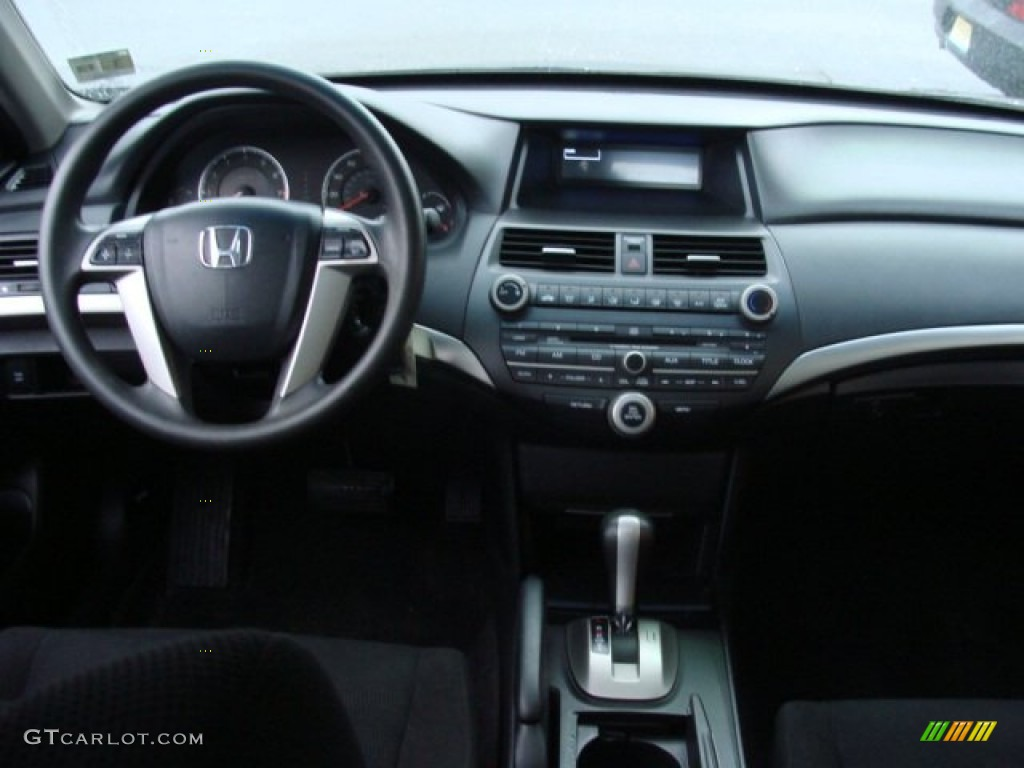 2009 Honda Accord Ex V6 Sedan Black Dashboard Photo