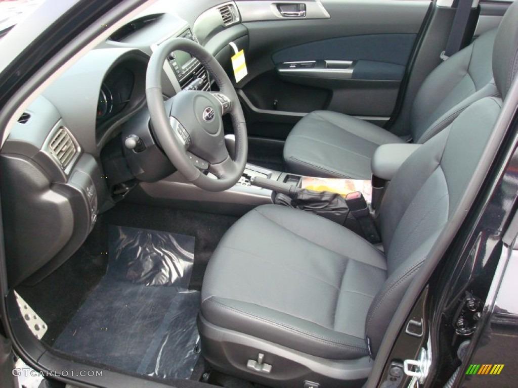black interior 2012 subaru forester 2 5 xt touring photo 59540593
