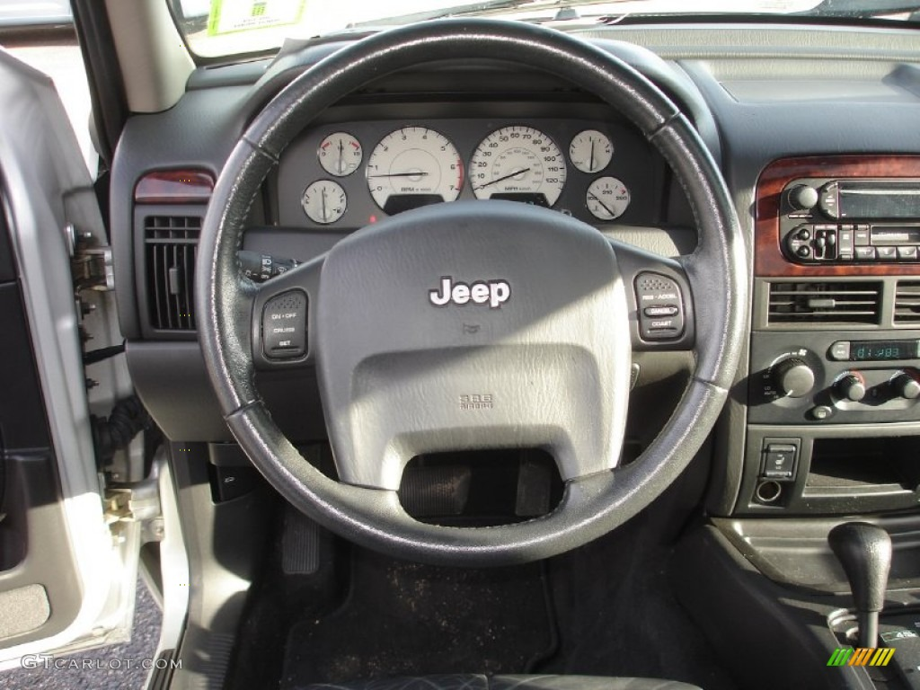 2003 jeep grand cherokee limited 4x4 steering wheel photos. Black Bedroom Furniture Sets. Home Design Ideas
