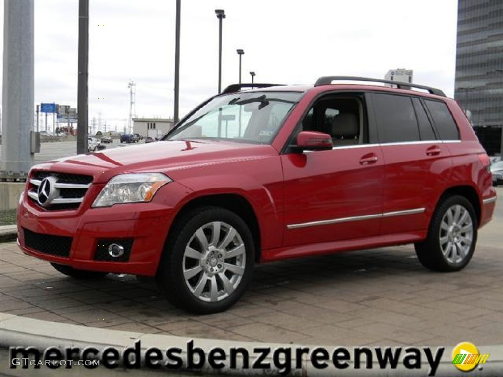 2011 Mars Red Mercedes Benz Glk 350 59528733 Gtcarlot