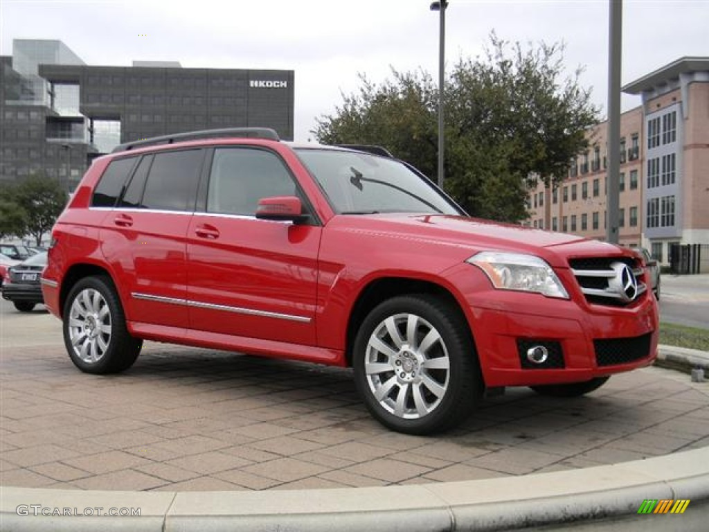 Mars Red 2011 Mercedes Benz Glk 350 Exterior Photo