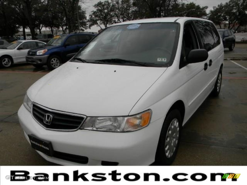 2003 taffeta white honda odyssey lx 59528655 car color galleries. Black Bedroom Furniture Sets. Home Design Ideas