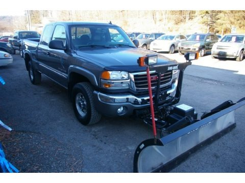 2006 GMC Sierra 2500HD SLT Extended Cab 4x4 Plow Truck Data, Info and Specs