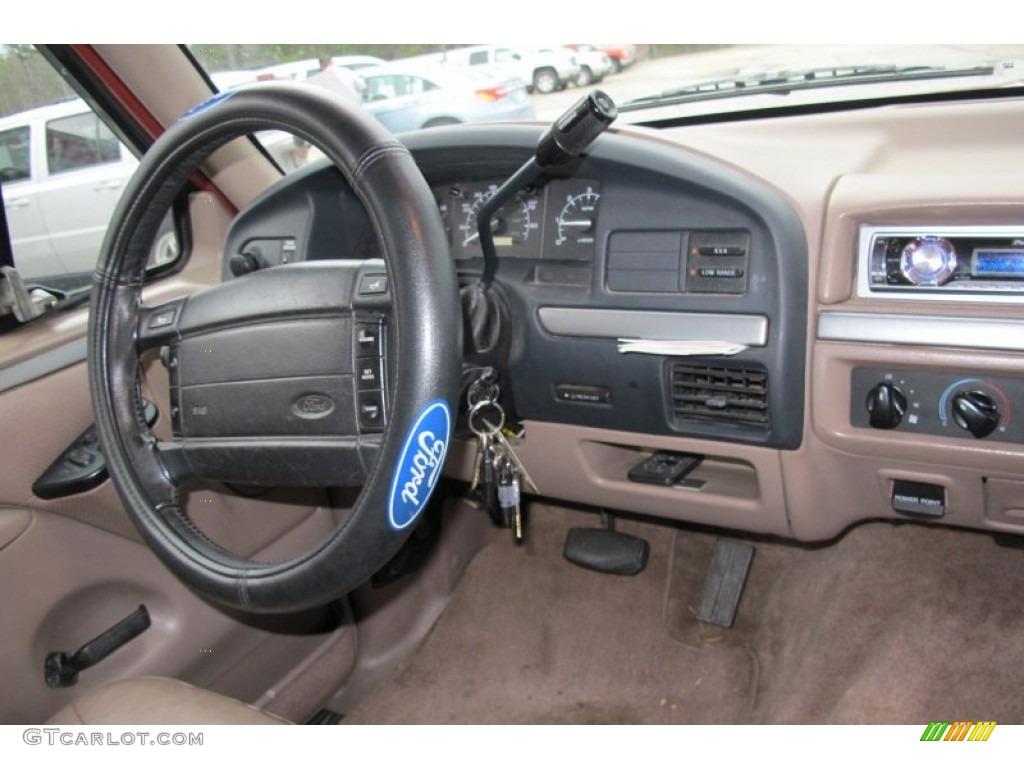 1994 Ford Bronco Eddie Bauer 4x4 Tan Dashboard Photo 59570763