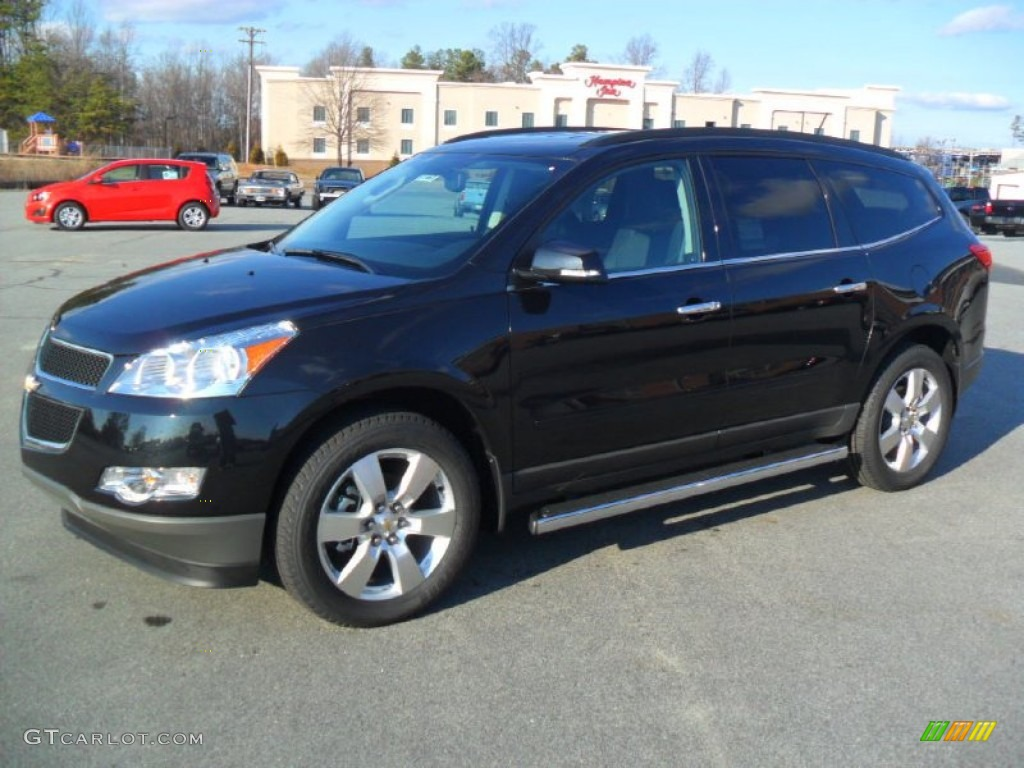 2012 Black Granite Metallic Chevrolet Traverse Lt 59529246